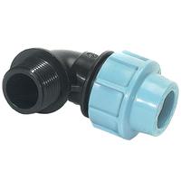 Отвод компрессионный Ду-20x1/2 (с наружной резьбой)