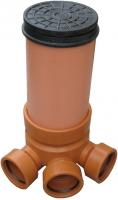 Подъемная труба (гофра) для ревизионных колодцев Ду-425 (3 м)
